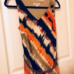 Liz Claiborne long pattern dress